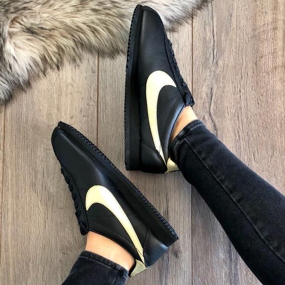 36153f41ef NWT Nike ID Cortez Leather Black NWT